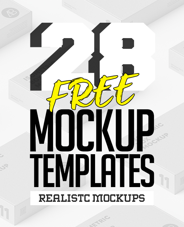 Free PSD Mockups: 28 Useful MockUp Templates
