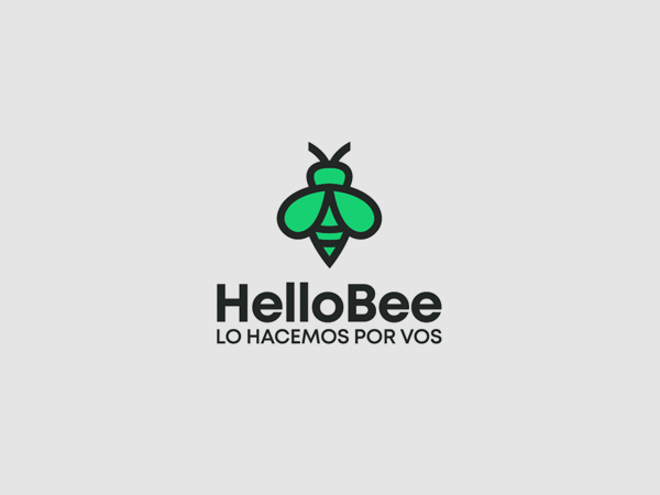 HelloBee logo by Slavisa Dujkovic