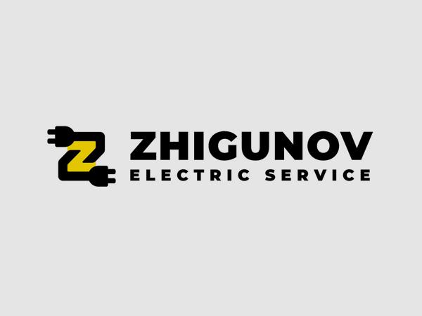 Zhigunov Electric Service logo by Yury Akulin
