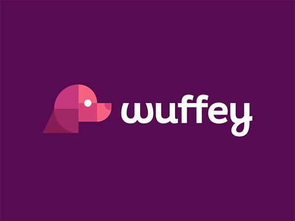 Wuffey Logo Design by Dalius Stuoka