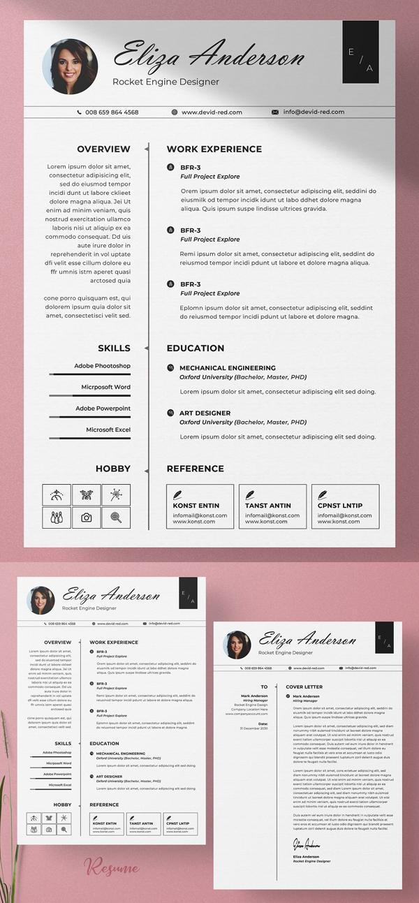 Classic Resume / CV Word