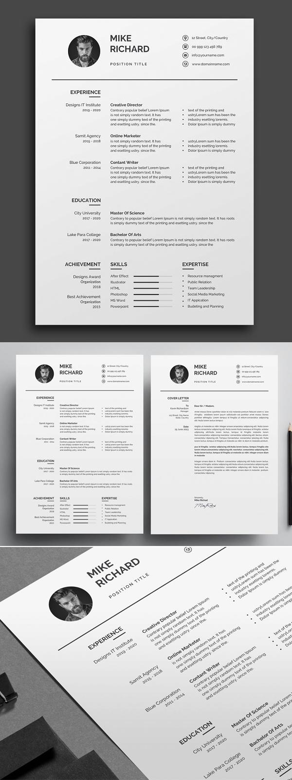 Simple Clean Resume / CV