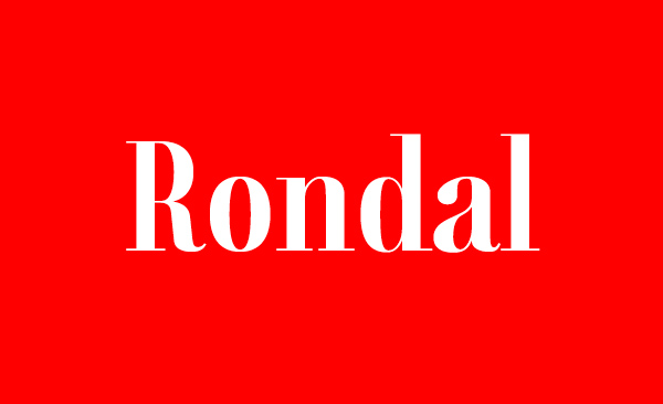 Rondal Free Font