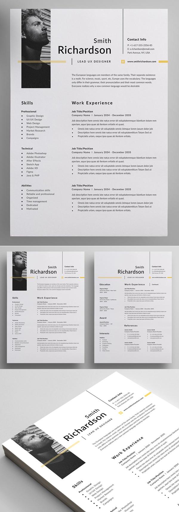 50 Best Resume Templates Of 2020 - 18