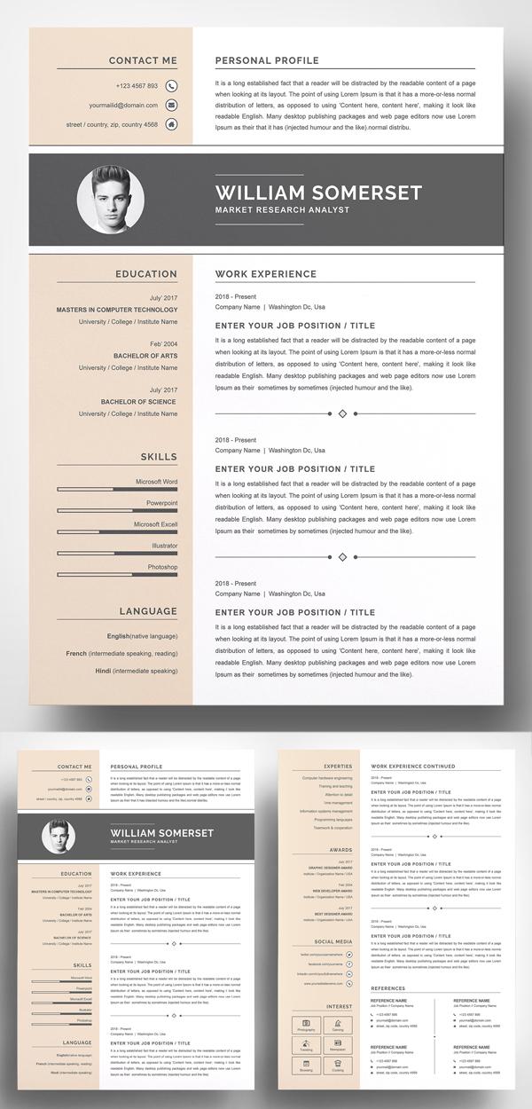 50 Best Resume Templates Of 2020 - 40