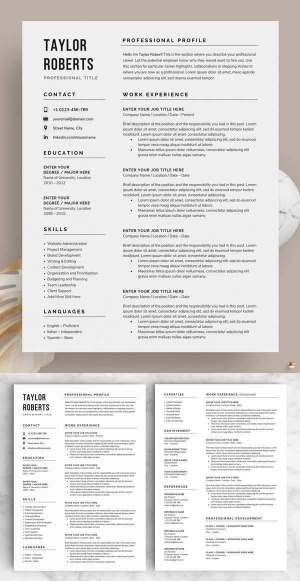 50 Best Resume Templates Of 2020 - 44
