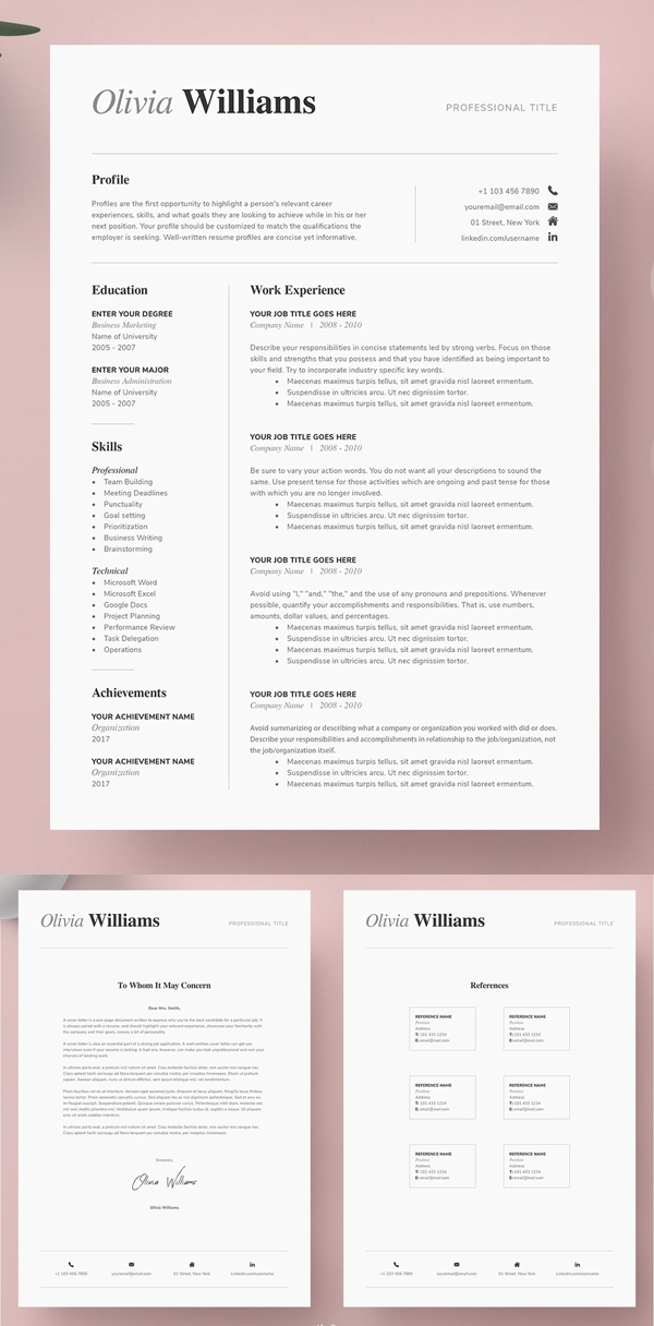 50 Best Resume Templates Of 2020 - 47