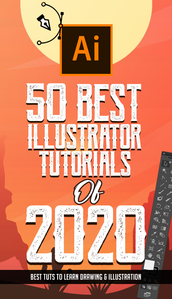 50 Best Adobe Illustrator Tutorials Of 2020