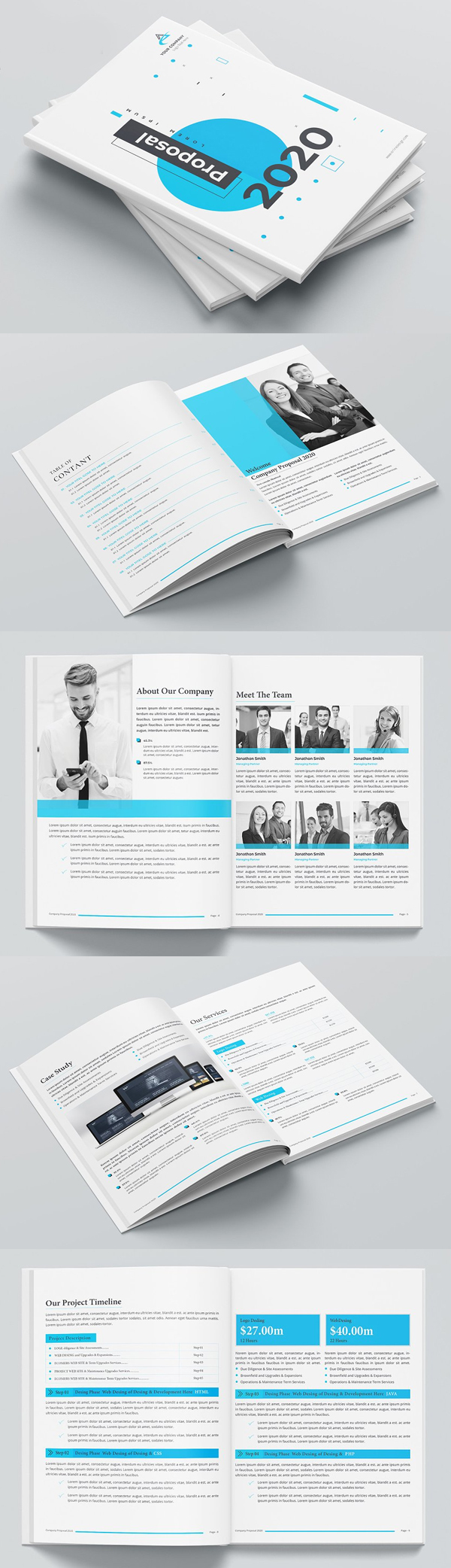 Project Proposal Print Template