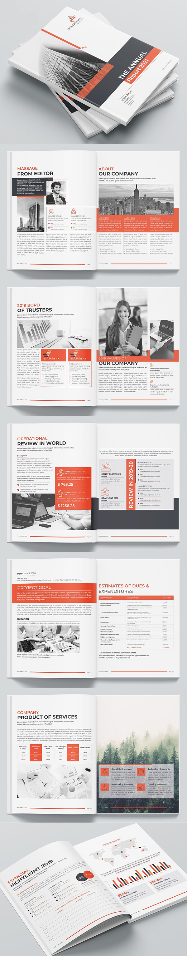 Perfect Annual Report Template