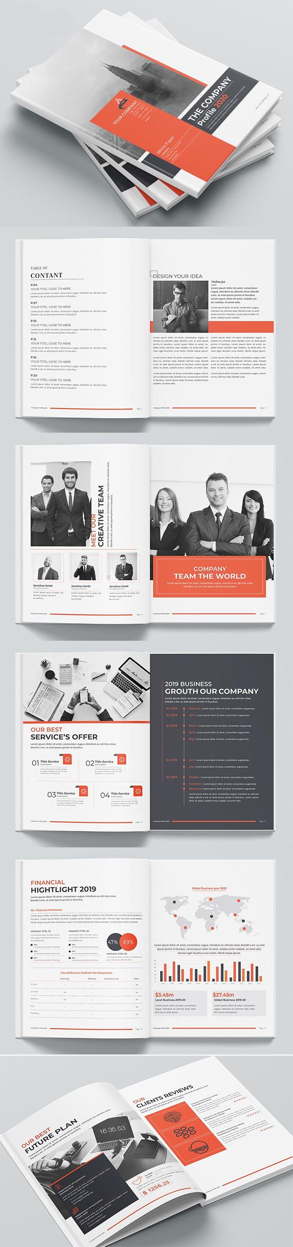 Company Profile Word Template