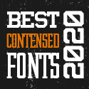 Post thumbnail of 25 Best Premium Condensed Fonts Of 2020