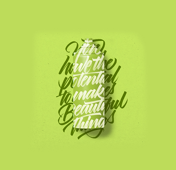 Remarkable Calligraphy and Lettering Designs for Inspiration - 12