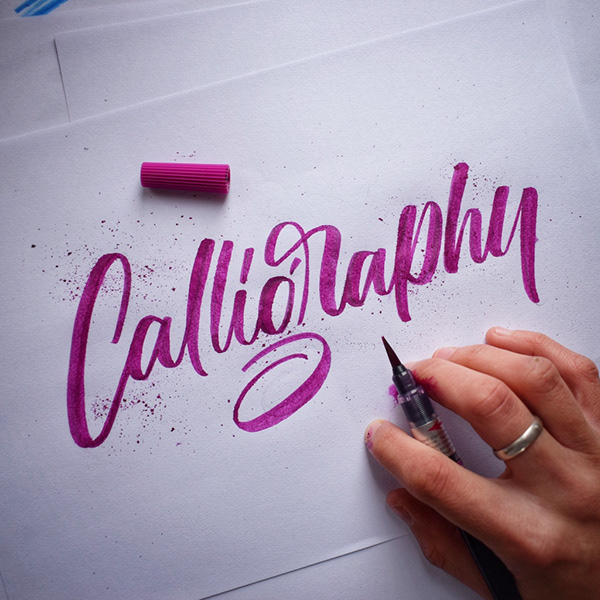 Remarkable Calligraphy and Lettering Designs for Inspiration - 6