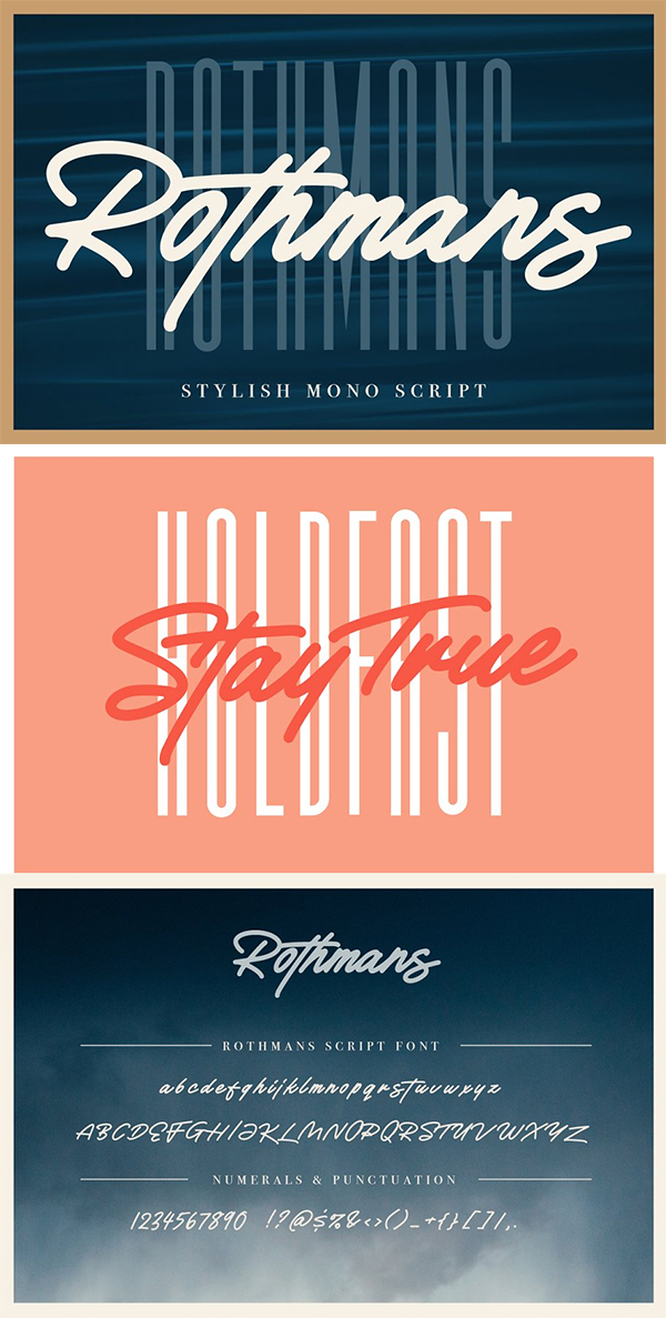 Rothmans - Font