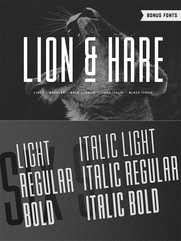 Lion & Hare Fon