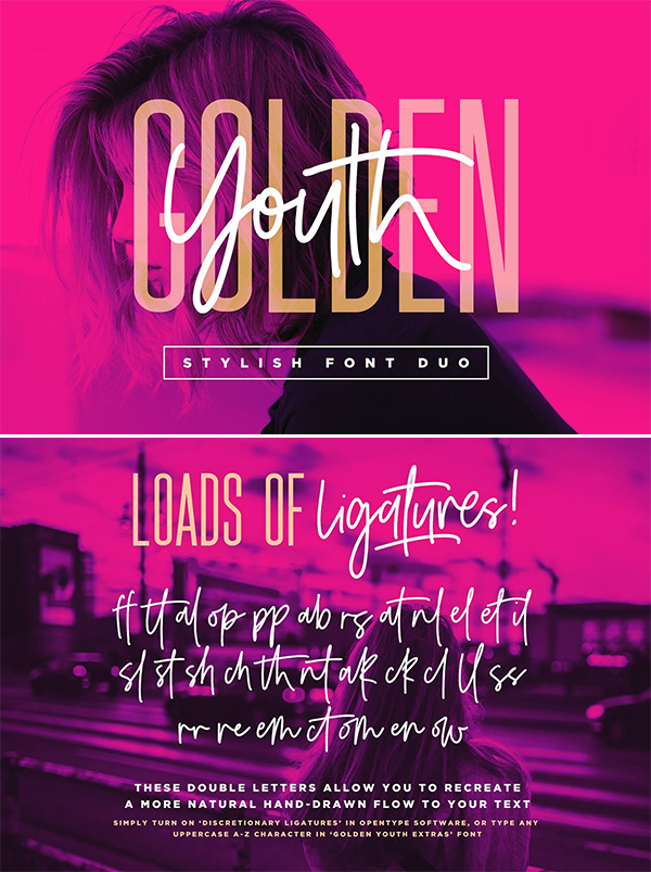 Golden Youth Font