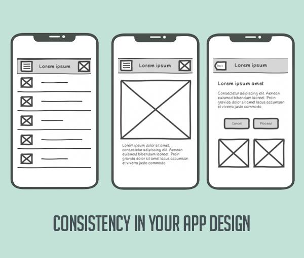 Keep Consistency in Your App Design
