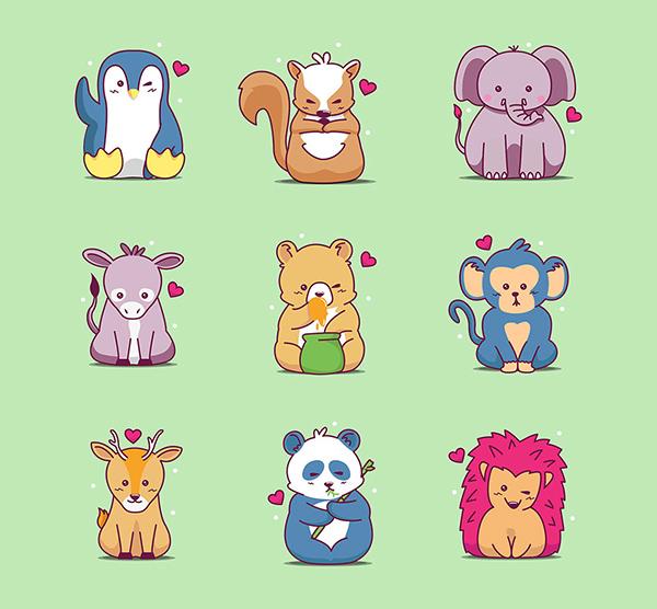 Free Wild Animals Icons