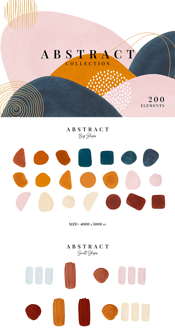 Free Abstract Art Collection