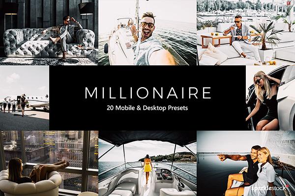 20 Millionaire LR Presets