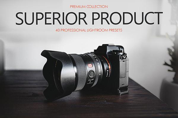 Superior Product Presets Lightroom
