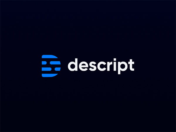 Descript Logo (Animated) by Ramotion