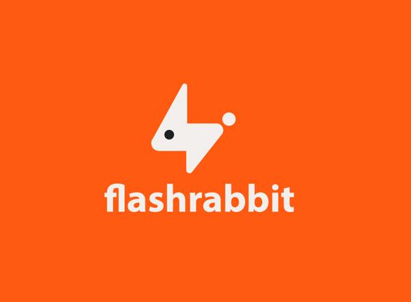 Flash Rabbit Logo design by Logorilla