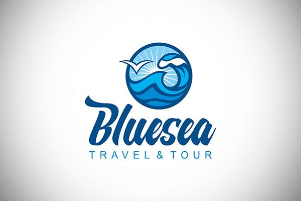 Bluesea Logo Design