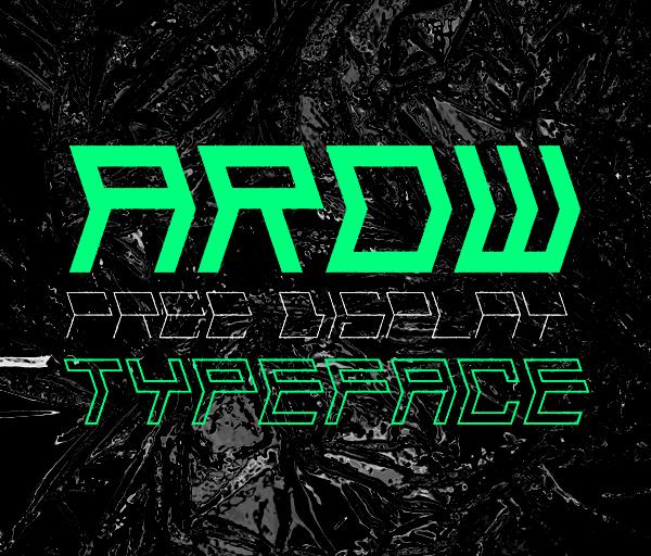 Arow Free Font
