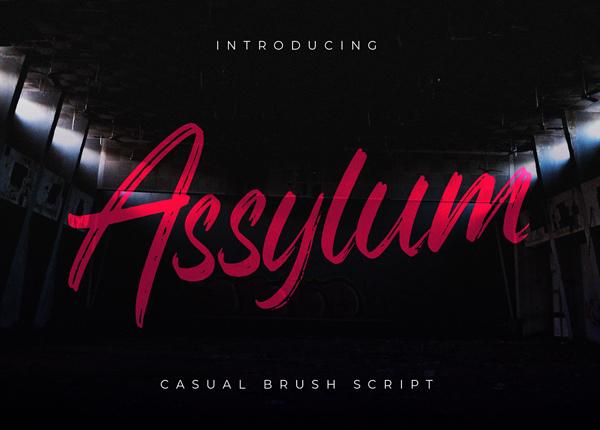 Assylum Free Font