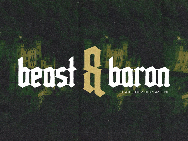 Beast & Baron Free Font