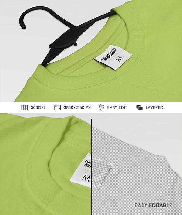 Free Clothing Label Mockups