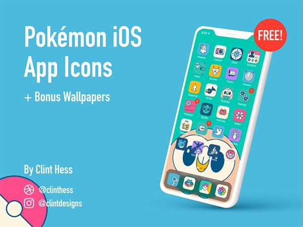 Pokemon iOS App Icons