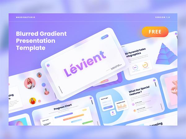 Creative Gradient Powerpoint Template