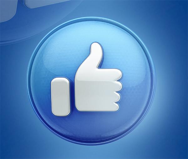 Facebook Like 3D - Free Download