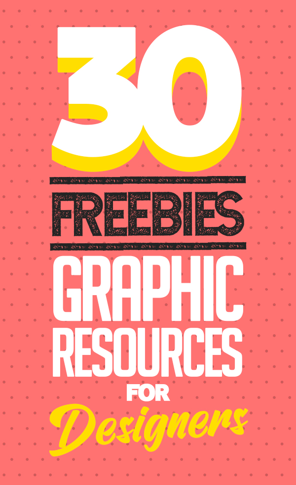 Freebies: 30 Free Useful Graphic Files for Designers