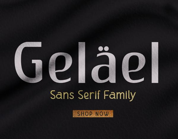Gelael Free Font