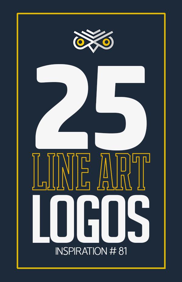 25 Creative Line Art Logo Designs for Inspiration #81