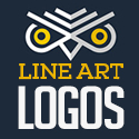 Post Thumbnail of 25 Creative Line Art Logo Designs for Inspiration #81
