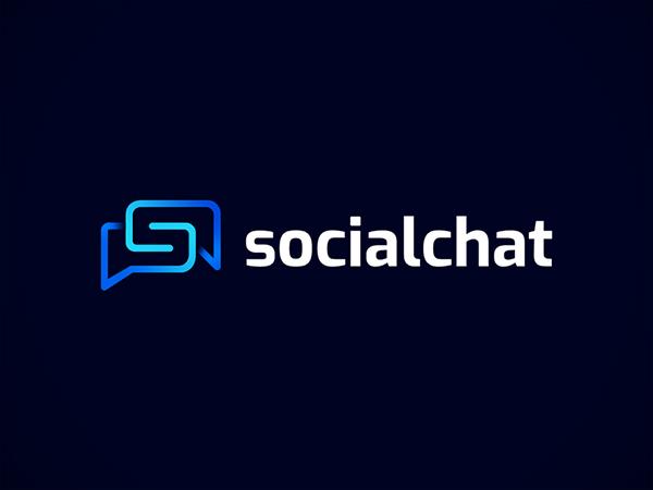 Socialchat Logo Concept by Alghifari Zahran