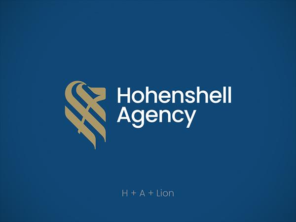 Hohenshell agency logo design by Anton Akhmatov