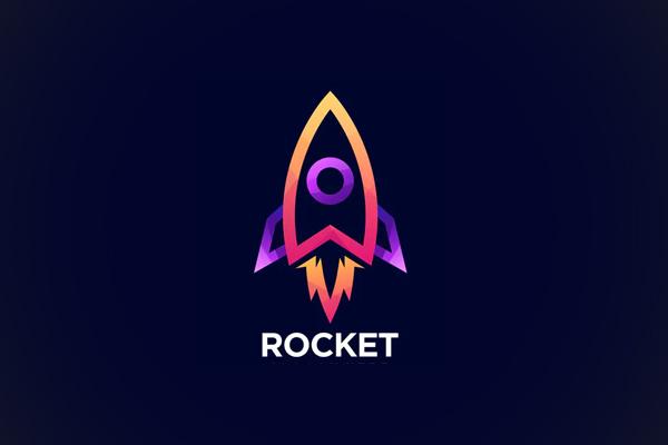 Rocket Line Color Logo