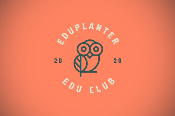 Eduplanter Line Art Logo by Ahmed creatives