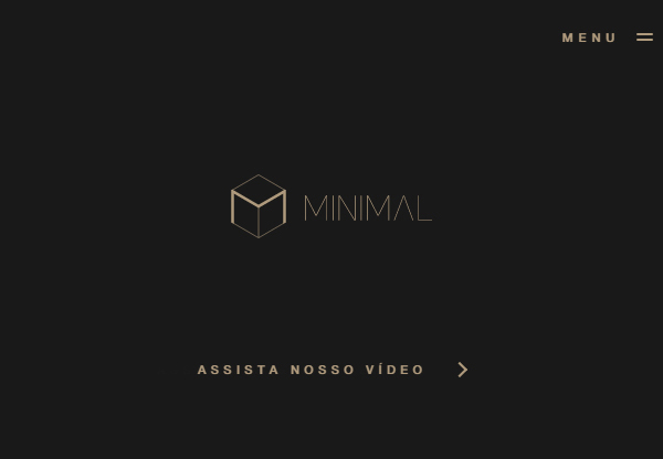 Minimal and Bold Design in Web