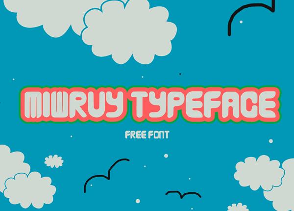 Miwruy Free Font