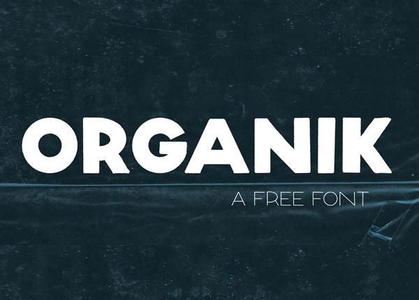 Organik Free Font