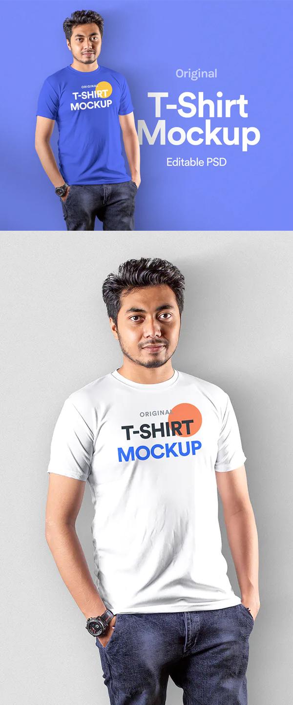 Orignal T-Shirt Mockup