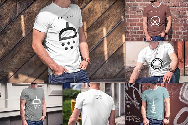 High Quality T-Shirt Mock-up