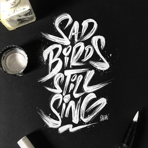 30 Remarkable Lettering Quotes and Typography Designs for Inspiration - 15